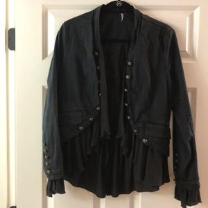 Free People Drapy Military Jacket